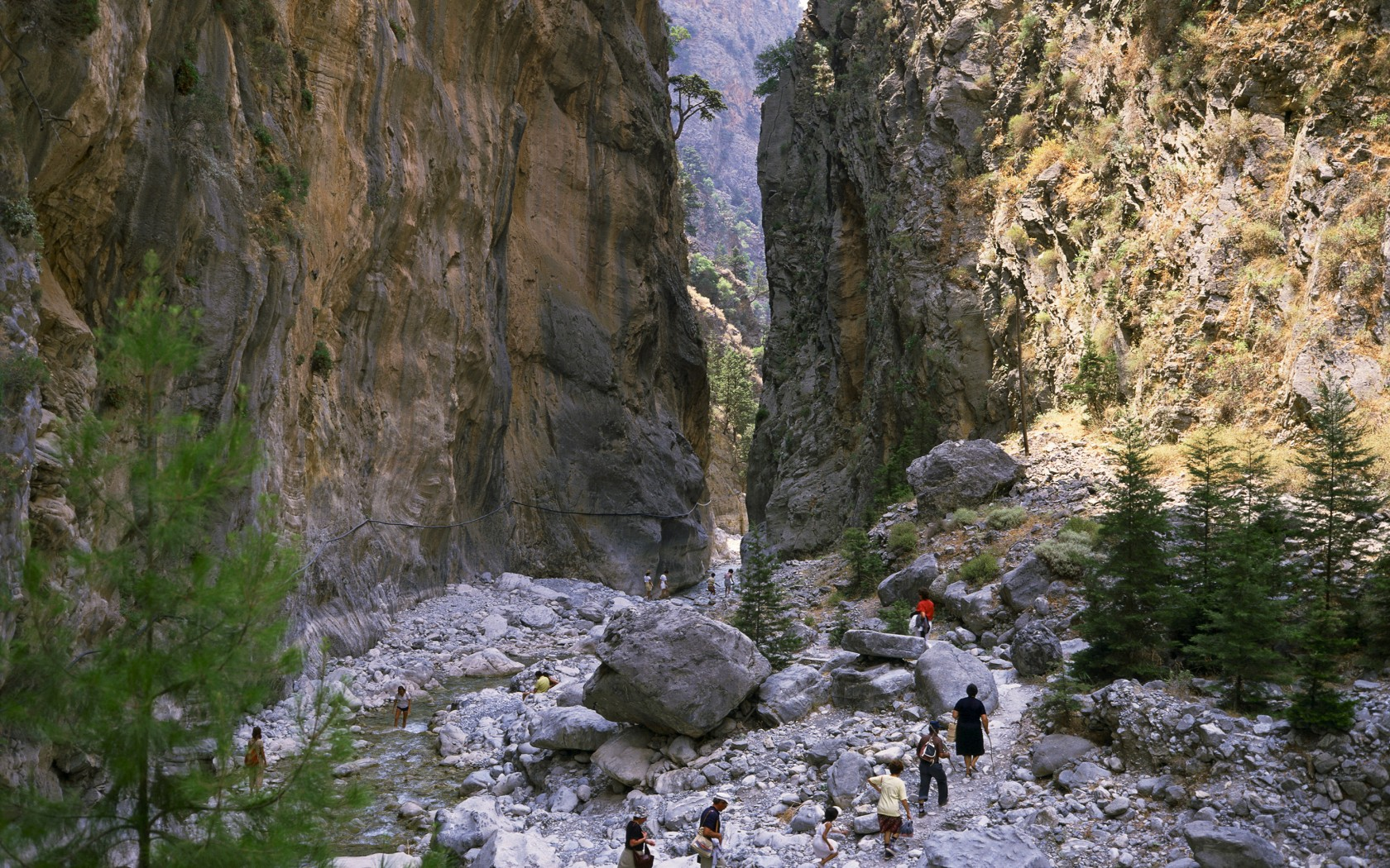 HIKE THE SAMARIA GORGE IN CRETE - S&K Villas - Luxury ...